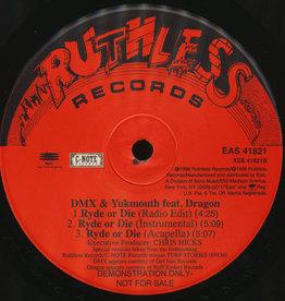 "Used Vinyl DMX & Yukmouth Ft. Dragon/ Nitro & Big Buccet- Ryde Or Die/ Hennessey (12"")"