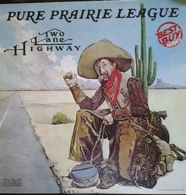 Used Vinyl Pure Prairie League- Two Lane Highway
