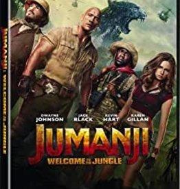 Used DVD Jumanji: Welcome To The Jungle