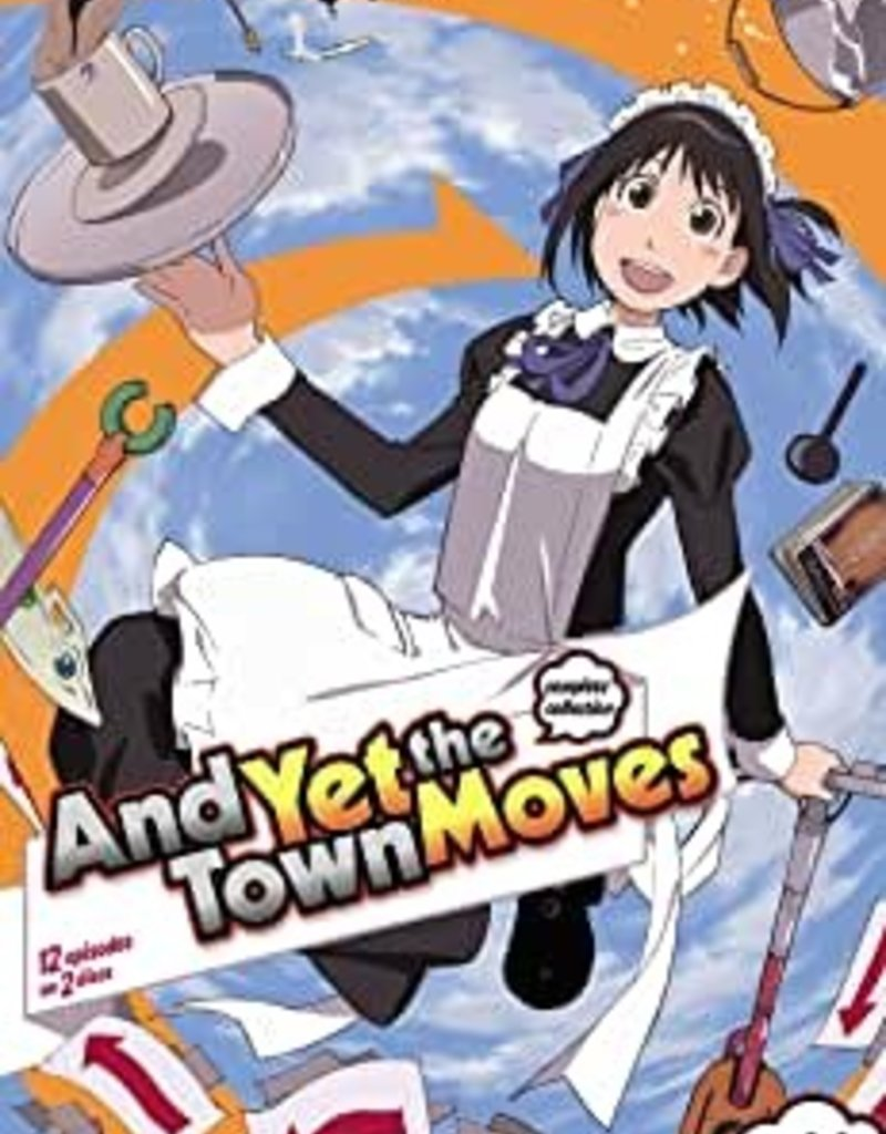 Used DVD And Yet The Town Moves Complete Collection