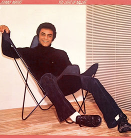 Used Vinyl Johnny Mathis- You Light Up My Life