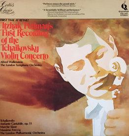 Used Vinyl Tchaikovsky- Tchaikovsky Violin Concerto (Itzhak Perlman Plays)
