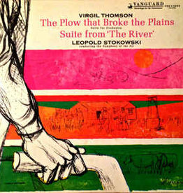 Used Vinyl Virgil Thomson- The Plow That Broke The Plains/ Suite From The River (Leopold Stokowski Composing)