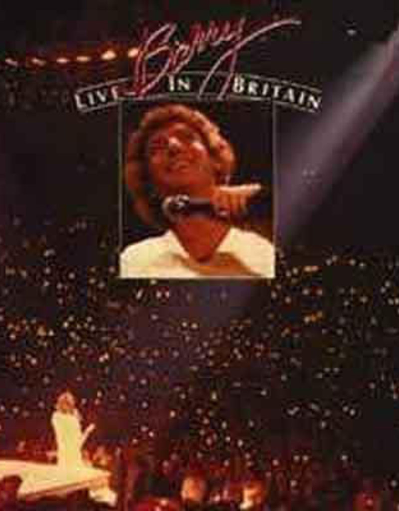 Used Vinyl Barry Manilow- Live In Britain
