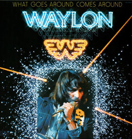 Used Vinyl Waylon Jennigns- What Goes Around Comes Around