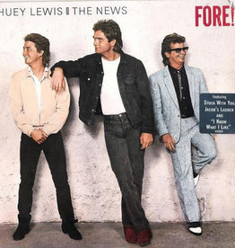 Used Vinyl Huey Lewis & The News- Fore!