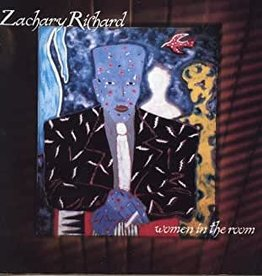 Used CD Zachary Richard- Women In The Room