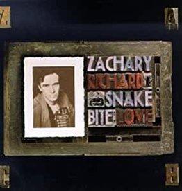 Used CD Zachary Richard- Snake Bite Love