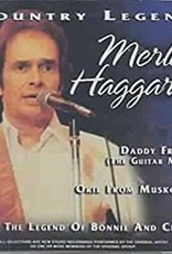Used CD Merle Haggard- Country Legend
