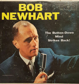 Used Vinyl Bob Newhart- The Button Down Mind Strikes Back