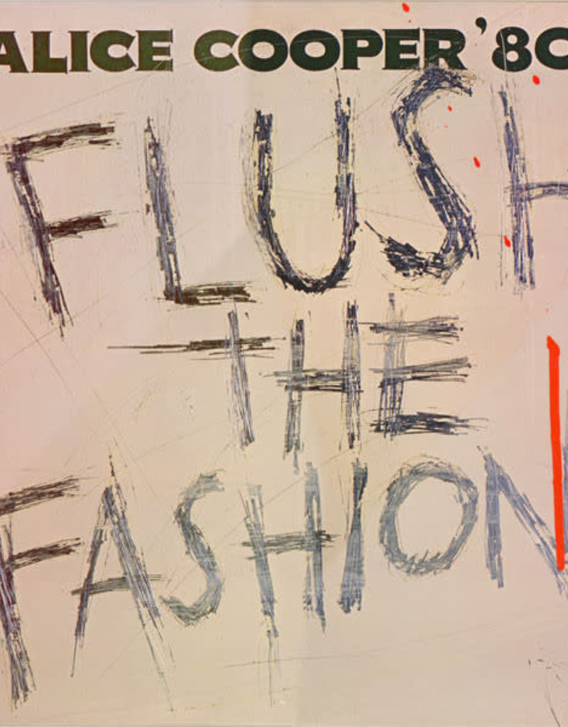 Used Vinyl Alice Cooper- Flush The Fashion