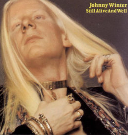Used Vinyl Johnny Winter- Still Alive And Well