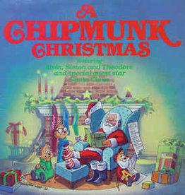 Used Vinyl Chipmunks- A Chipmunk Christmas