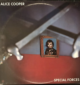 Used Vinyl Alice Cooper- Special Forces
