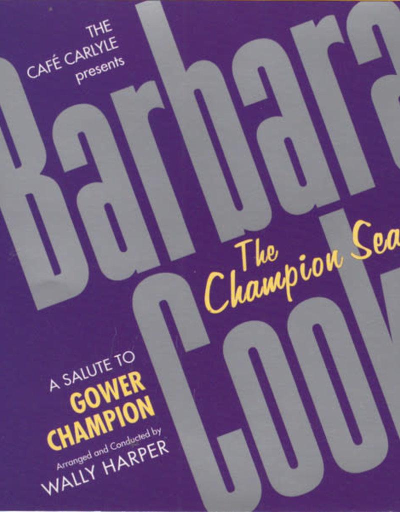 Used CD Barbera Cook- The Champion Season