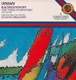 Used CD Racmaninoff- The Three Symphonies (Eugene Normandy Composer)