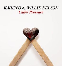 New 7 Karen O & Willie Nelson- Under Pressure -RSD21 (Drop 2)