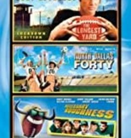 Used DVD The Longest Yard/ North Dallas Forty/ Necessary Roughness
