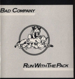 Used Cassettes Bad Company- Run With The Pack