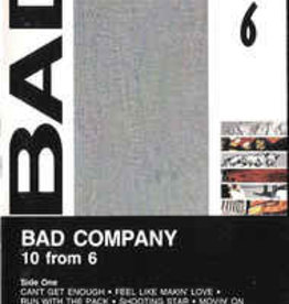 Used Cassettes Bad Company- 10 From 6