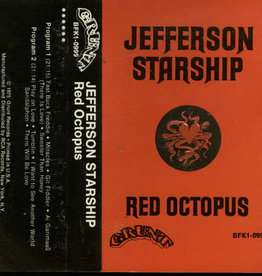 Used Cassettes Jefferson Starship- Red Octopus