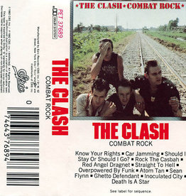 Used Cassettes The Clash- Combat Rock