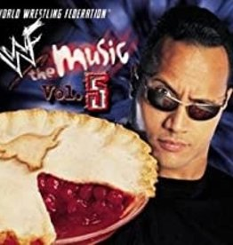 Used CD WWF The Music Vol. 5
