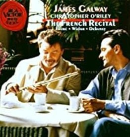 Used CD Faure/ Widor/ Debussy- The Frence Recital (James Galway, Flute/ Christopher O'Riley Piano)