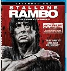 Used BluRay Rambo (2008) (Extended Cut)