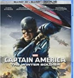 Used BluRay Captain America: The Winter Soldier