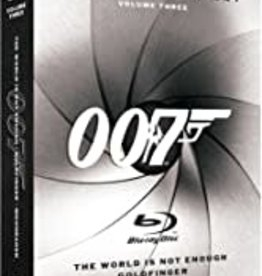 Used BluRay 007 James Bond Bluray Volume Three