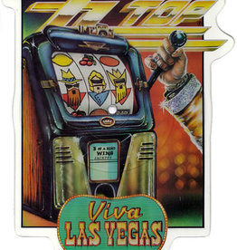Used 7 ZZ Top- Viva Las Vegas (Pic Disc)