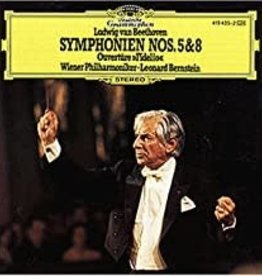Used CD Beethoven- Symphonien Nos. 5 & 8 (Leonard Berstein, Conductor)