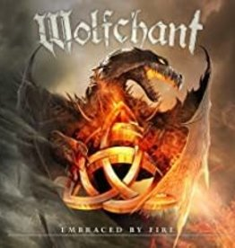 Used CD Wolfchant- Embraced By Fire