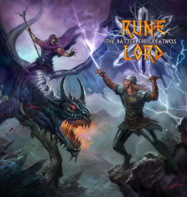 Used CD Rune Lord- The Battle For Greatness