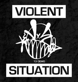 Used 7 Violent Situation- 13 Demo (Clear Red)