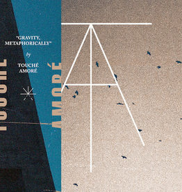 Used 7 Touche Amore/Pianos Become The Teeth- Gravity, Metaphorically / Hiding (Blue/Gold Split)
