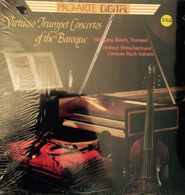 Used Vinyl Various- Virtuoso Trumpet Concertos Of The Baroue