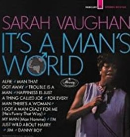 Used CD Sarah Vaughan- It's A Man's World