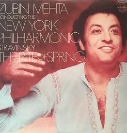 Used Vinyl Stravinsky- The Rite Of Spring (Zubin Mehta Conducting)