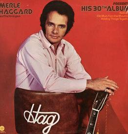 Used Vinyl Merle Haggard- His 30th Album