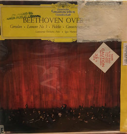 Used Vinyl Beethoven- Overtures (Igor Markevitch Conducting)