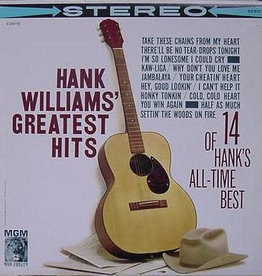Used Vinyl Hank Williams- Greatest Hits