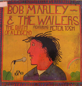 Used Vinyl Bob Marley & The Wailers ft. Peter Tosh- The Birth Of A Legend