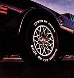 Used Vinyl Tower Of Power- Back On The Streets