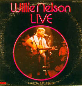 Used Vinyl Willie Nelson- Live