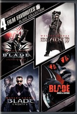 Used DVD 4 Film Favorites: Blade Collection