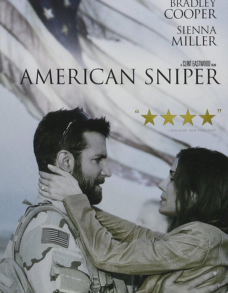 Used DVD American Sniper
