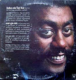 Used Vinyl Johnnie Taylor- Eargasm