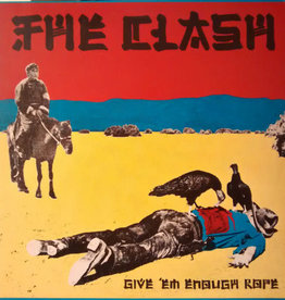 Used Vinyl The Clash- Give 'Em Enough Rope (1st Reissue)